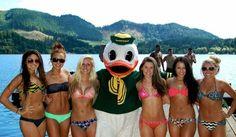 cheerleaders bikini Oregon
