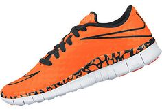 Nike Kids Free Hypervenom Indoor Shoes - Total Orange