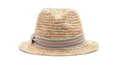 Hat Attack chapeau de paille http://www.vogue.fr/mode/shopping/diaporama/chapeaux-de-paille-ete-maison-michel-stetson-borsalino/14301/image/802228#!hat-attack-chapeau-de-paille