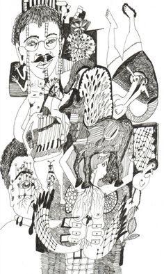 Original art for sale at pabloundpaul.de | o.T., 2012 by Marieke Horstmann | 17x25 cm | 230,00 €
