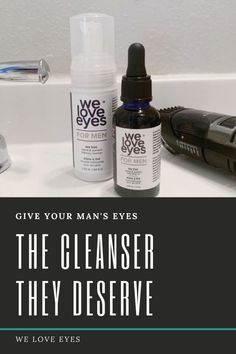 Men deserve clean eyes, too! This cleansing system is designed specifically for men to remove dirt, debris, sweat and prevent all kinds of nasty bacteria. Diy Skin Care, Skin Care Tips, Honeysuckle Flower, Itchy Eyes, Vitis Vinifera, Clear Eyes, Male Eyes, Cleansing Oil, Tea Tree Oil
