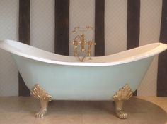 Restored Cast Iron Bath