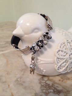 Totally Customize-able Fit Bit Bracelet by BobsFashionJewelry