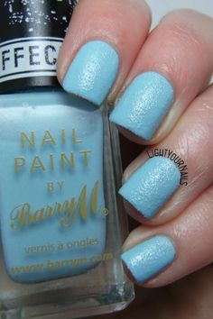 Barry M Atlantic Road textured nail paint smalto polish