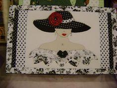 Mosaicos Eliane Amorim: Patchwork embutido - Caixa de biju e maquiagem