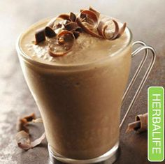 Herbalife Dutch Chocolate is great for those afternoon cravings.