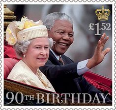 £1.52, HM The Queen with Nelson Mandela 1996 from HM The Queen's 90th Birthday (2016)