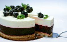 Recept bramen yoghurt taart Baking Recipes, Cake Recipes, Dessert Recipes, Desserts, Baking Ideas, Cake Cookies, Cupcake Cakes, Cupcakes, Mini Key Lime Pies