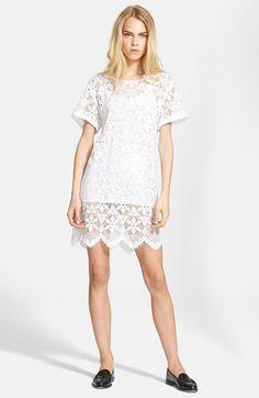 T shirt lace dress size