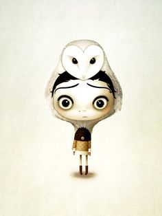 Poster of the girl and her owl