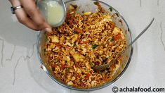 Maggi Bhel is a recipe of savory snack & chaat recipe in hindi & english with step to step directions with photos & recipe video,tips & variation Khandvi Recipe, Bhel Recipe, Kulfi Recipe, Biryani Recipe, Maggi Recipes, Spicy Recipes, Indian Food Recipes, Vegetarian Recipes, Cooking Recipes