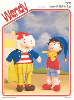 vintage noddy and big ears knitting pattern