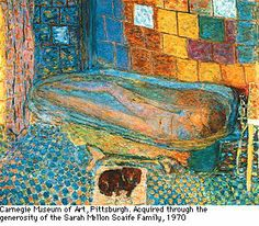 Slide 16: 16. Pierre Bonnard, 'Nude in the Bath and Small Dog', 1941-6 ...