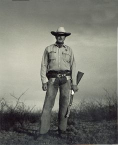 Texas Ranger; Joaquin Jackson...His book is a great read! He lived in Uvalde for quite a while!