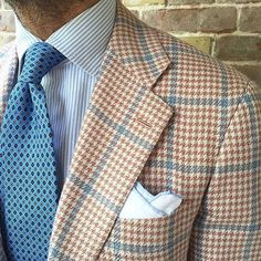 "danielmeul: "" #summer cashmere #jacket by @kiton #shirt by @finamore1925 #tie by…"