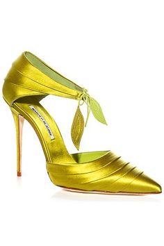 Manolo Blahnik - Shoes More - 2014 Spring-Summer #manoloblahnikheelsladiesshoes