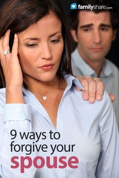 Oops, he's done it again: How to forgive your spouse