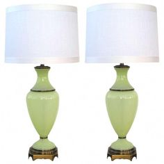 Deco Vintage Smooth French Antique For Sale Objective Very Beautiful Lampshade Opaline Years 50