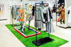 Joseph Fashion Thom Browne windows by Nathan Hicks & Joseph Visual Team, London » Retail Design Blog