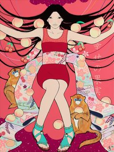 """Yumiko Kayukawa's """"Coming Home"""" exhibition is showing at the Roq La Rue gallery in my hometown right now."""