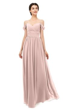 ColsBM Angel Dusty Rose Bridesmaid Dresses Short Sleeve Elegant A-line Ruching Floor Length Backless Pink Bridesmaid Dresses Short, Blush Pink Bridesmaids, Affordable Bridesmaid Dresses, Short Dresses, Pink Dresses, Mob Dresses, Lace Dresses, Summer Dresses, Dusty Rose Dress