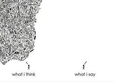 Think vs. Say