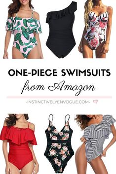One-Piece Swimsuits from Amazon I'm Crushing On - Instinctively en Vogue