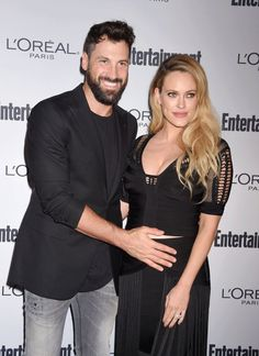 Peta Murgatroyd and Maksim Chmerkovskiy Make Their Red Carpet Debut as Expectant Parents