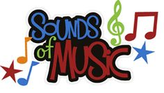 Scrapbook Layout Title - Sounds of Music