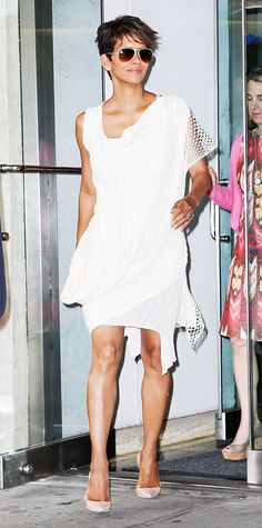 Look of the Day - July 9, 2014 - Halle Berry from #InStyle