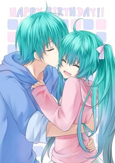 Hatsune Miku & Mikuo. Internet, Ship a person with themselves since the loraxs XD