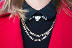 layered gold necklaces | Ready For The Holidays | www.allglammedupstyle.com