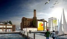 Saving and repurposing the Domino sugar factory.