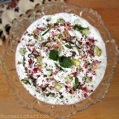 Yogurt and Cucumber Dip (Mast-o-Khiar)