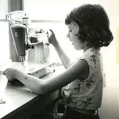 brincar de costurar