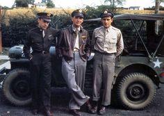 US bomber pilots, Great Sailing, England 1944