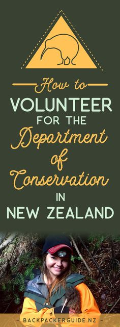 Look after New Zealand's wildlife and recreation. The famous New Zealand scenery is protected by the Department of Conservation (DoC). The wildlife, walking tracks, campsites and backcountry huts that backpackers enjoy while travelling around NZ are maintained and preserved by volunteers who also have a passion for NZ's natural offerings. Even with a visitor visa, there are ways to get involved. Find out how in this quick guide on how to volunteer for the Department of Conservation in New…