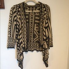 Aztec tribal sweater anthropology Nice great never worn USA made Sweaters Cardigans