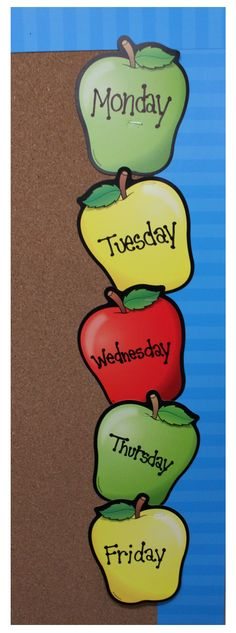 Lakeshore's colorful Apple Bulletin Board Accents bring your bulletin boards to life…and can be used to decorate your class throughout the year!