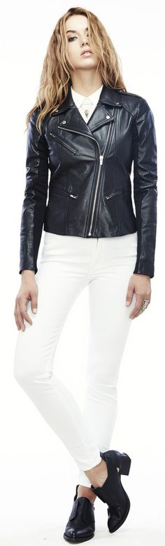 VEDA Topaz jacket #spring13 #blackandwhite