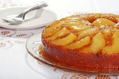 Pear and ginger upside down pudding | recipe | Mumsnet