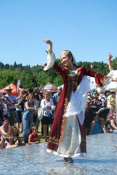 Bailarina turca, Turquia