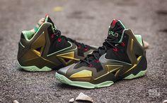 "Nike LeBron 11 ""King's Pride"" Detailed Images"