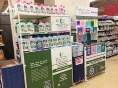 Self-service of washing liquid in the Iper supermarket // Milano - Italy /Furik VIGNAUD/