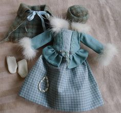 18th C. Scottish Outlander Winter Outfit for Hitty by Islecroft