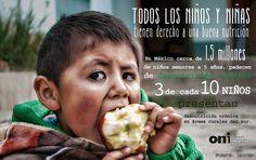 Los #niños y la #desnutrición en #México
