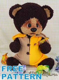 Crochet Gratis, Crochet Amigurumi, Crochet Teddy, Amigurumi Patterns, Crochet Toys, Free Crochet, Crochet Patterns, Strong Knots, Christmas Angel Ornaments