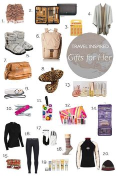 Travel inspired gifts for women. Holiday, birthday - there is something in this . Travel inspired gifts for women. Holiday, birthday - there is something in this list for every travel loving girl! Travel Items, Travel Gadgets, Travel Products, Amazon Products, Travel Packing, Travel Luggage, Packing Lists, Gifts For Women, Gifts For Her
