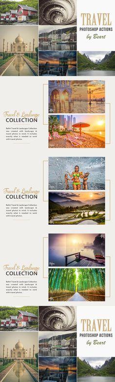 Landscape & Travel Photoshop Actions. Plug-ins. $19.00
