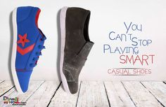 #YouCantStopPlayingSMART #CasualShoes Available at DiwaliHoli.com Starts at 299/- Only  Free Shipping* Fast Delivery, Easy Returns. Shop on our website for surprise offers.